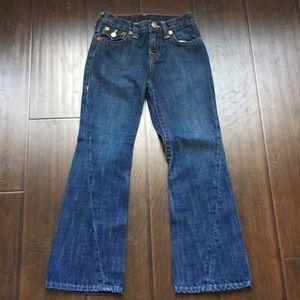 Kids True Religion Bell bottom jeans